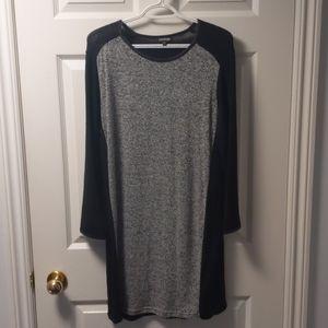 Long sleeve sweater dress XL $10